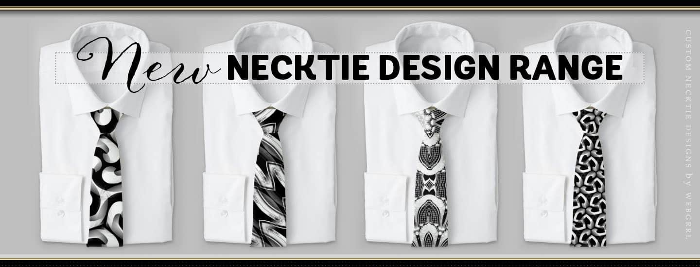 Cool All of Printing Neck Tie Designs