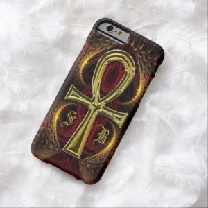 ankh_gold_goddess_custom_name_iphone_6_case-red2