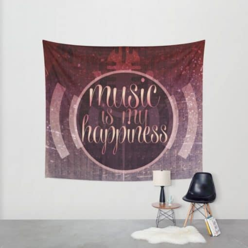 music is my happiness tapestry (medium)