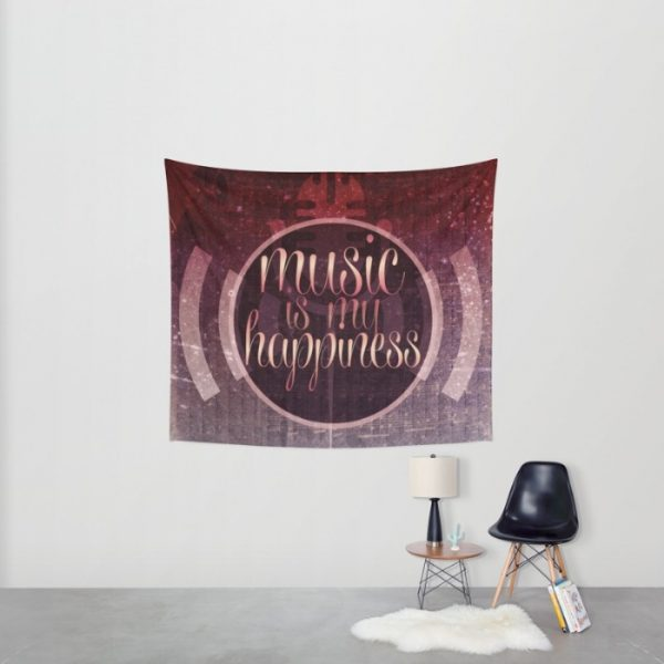music is my happiness tapestry (small)