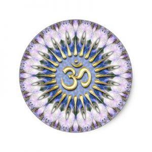 om_lavender_love_energy_spiritual_healing_sticker