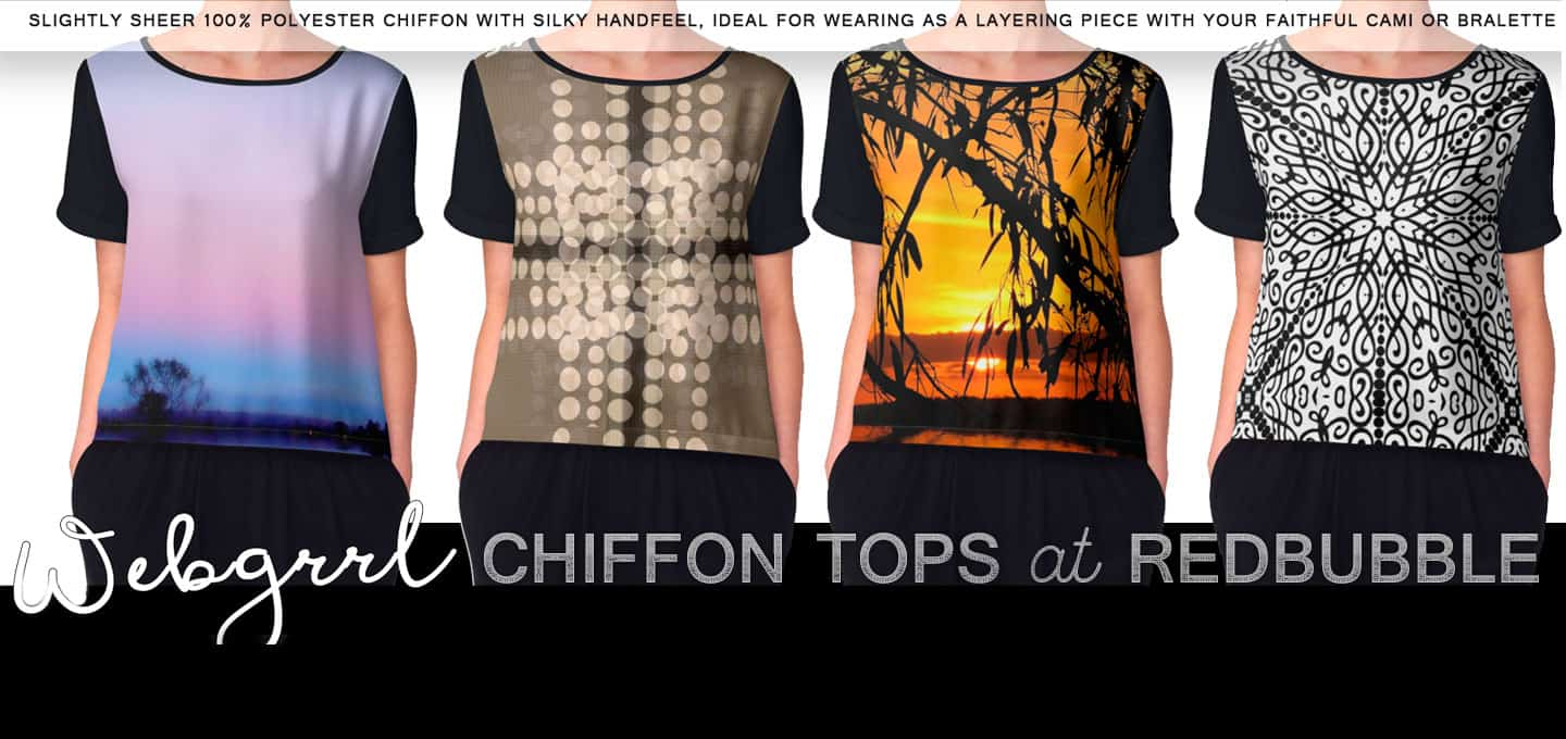 Artistry Chiffon Tops | New clothing range