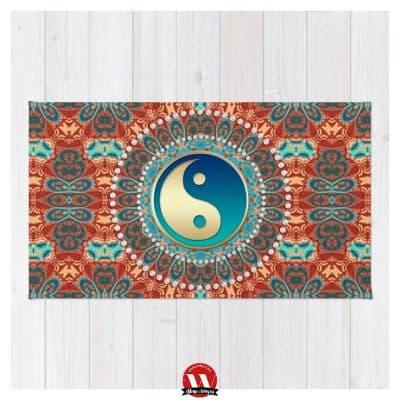 Bohemian Batik Yin Yang by Webgrrl | Society6