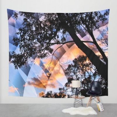 Digital Nature - Wall Tapestry - Fabric banner by Webgrrl | Society6