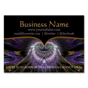 Spiritual Tree Holistic Business Cards by Webgrrl | Onlinecards (side b)