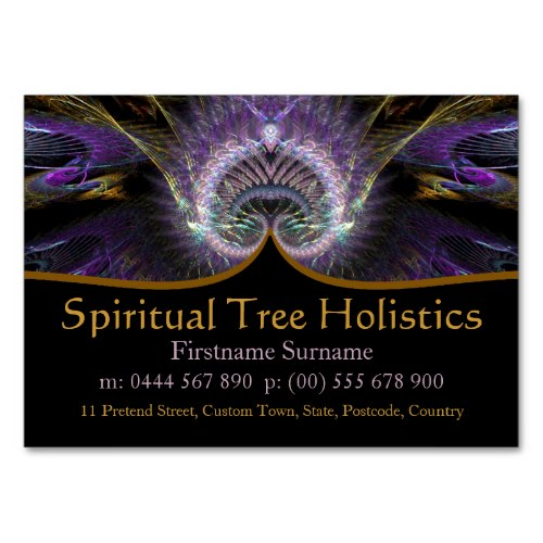 Spiritual Tree Holistic Business Cards by Webgrrl | Onlinecards