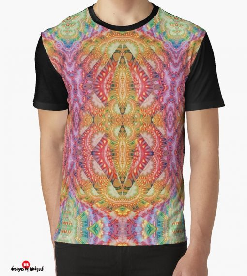 Psydefx Psychedelic Trippy 1 Graphic T-Shirts   designed by Webgrrl
