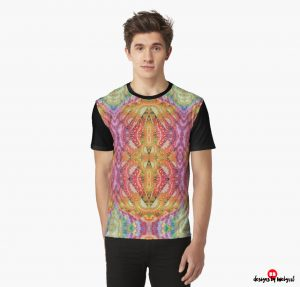 Psydefx Psychedelic Trippy 1 Graphic T-Shirts | designed by Webgrrl
