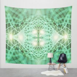 geometry eternal dreams wall tapestry by webgrrll