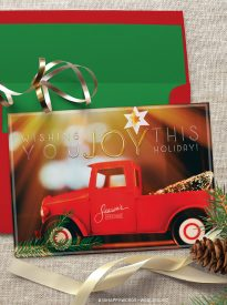 Free 5x7 Holiday Card Printable
