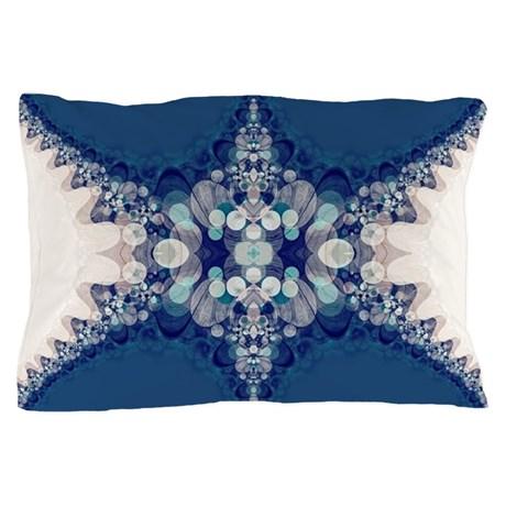 Blue Bahai Pillowcase by Webgrrl | Cafepress