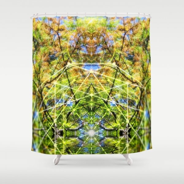 GeoBotanica Shower Curtain | by Webgrrl