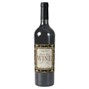 Wine Labels | Stylish Earthy Gold Black Glamour by Webgrrl