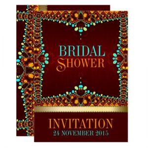 Eastern Bohemian Bridal Shower Invitations by AlternativeWeddings