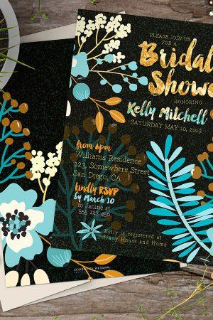 Bridal Shower | Warm Earth Floral
