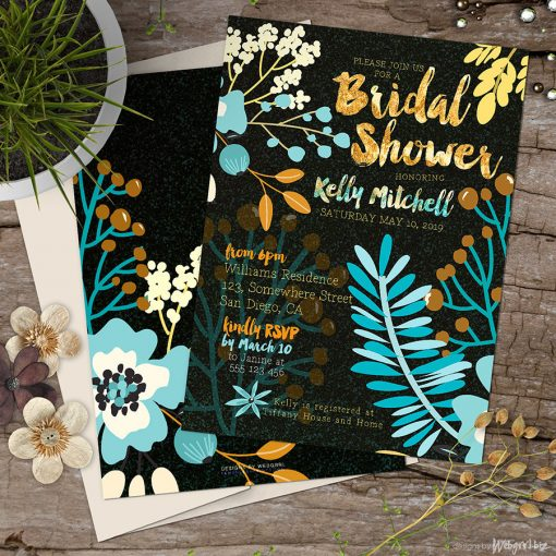 Bridal Shower | Warm Earth Floral