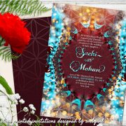 Magical design for alternative style romantics – An eastern and Indian wedding inspired design