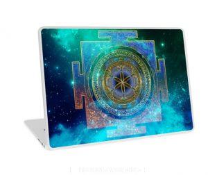 Yantra Mandala Magical Sky Laptop Skins