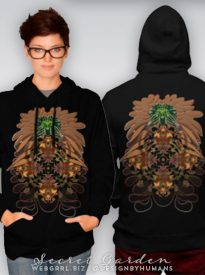 Secret Garden TShirt & Hoodies by Webgrrl | Designbyhumans