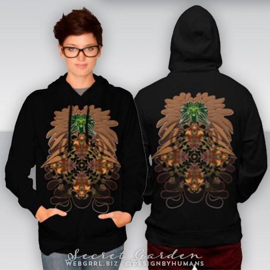 Secret Garden TShirt & Hoodies by Webgrrl | Designbyhumans
