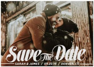 Save the Date Announcement Photo Card by Webgrrl
