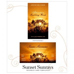 sunset-sunrays-business-cards-wg800sq