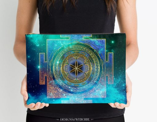 Yantra Mandala Magical Sky Studio Pouches