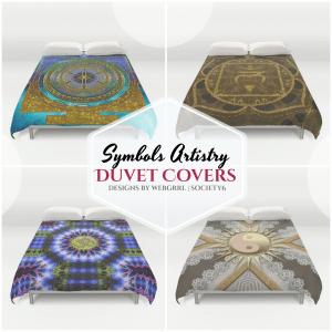 Unique Design Duvet Covers by Webgrrl | Society6
