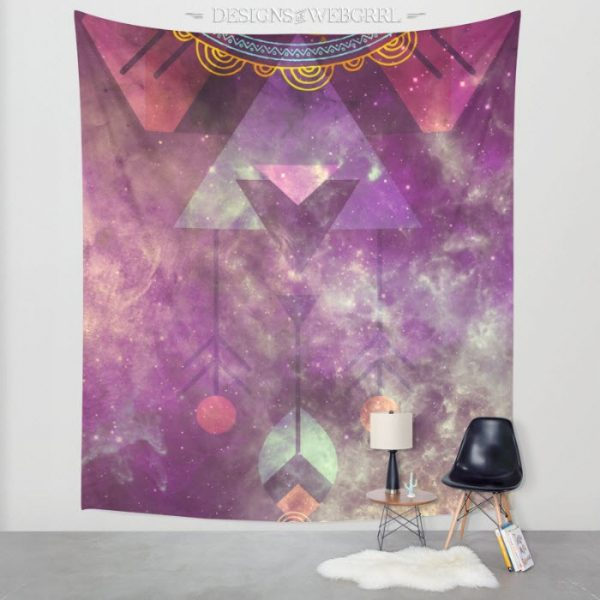 Wall Tapestries - made of 100% lightweight polyester with hand-sewn finished edges