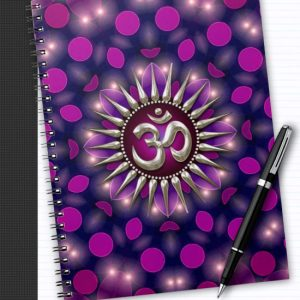 yoga_om_purple_healing_energy_notebook