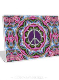 Groovy Hippy Sparkle Laptop Skin
