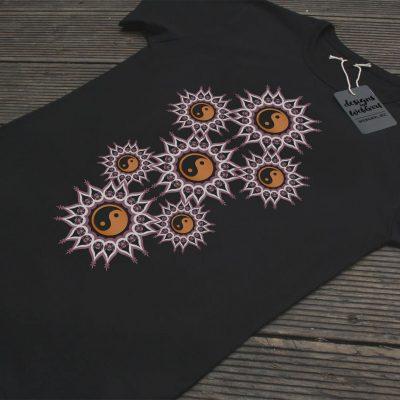 Yin Yang Balance Mandala | T Shirt & Tops