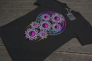 Yin Yang Balance Mandala   T Shirt & Tops