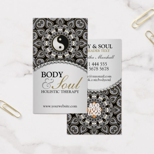 Arabesque new age holistic business card zazzle arabesque new age holistic business card by webgrrl onlinecards colourmoves