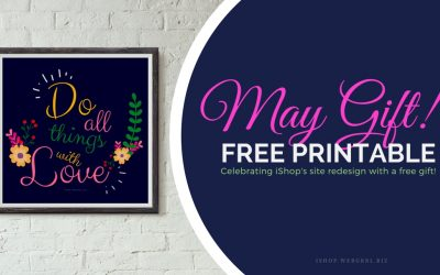 Free Printable Quote ❤ Do Everything With Love