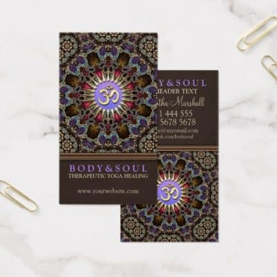 alternative_eastern_yoga_new_age_business_cards