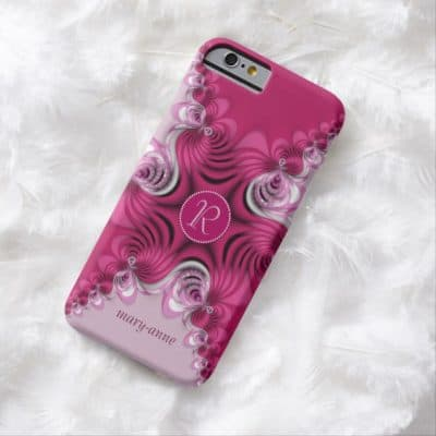 fractal_pink_swirls_monogram_name_iphone6_case-4