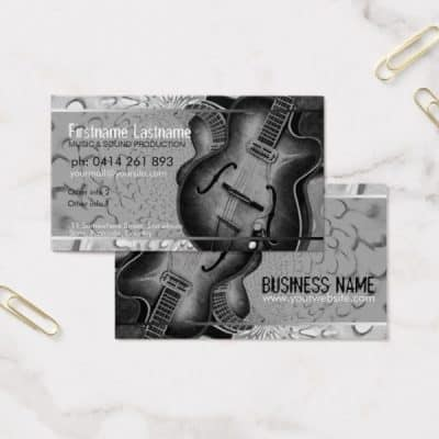 guitar_grey_black_music_business_card-2