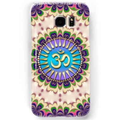 New Age Energy Golden OM Phone Case | Webgrrl @ Redbubble