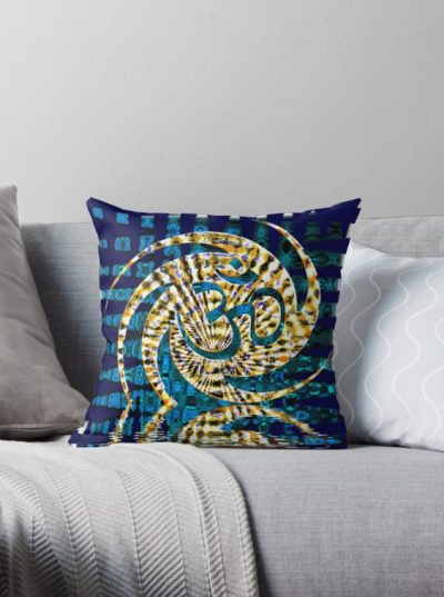 ohmdelica Throw Pillows