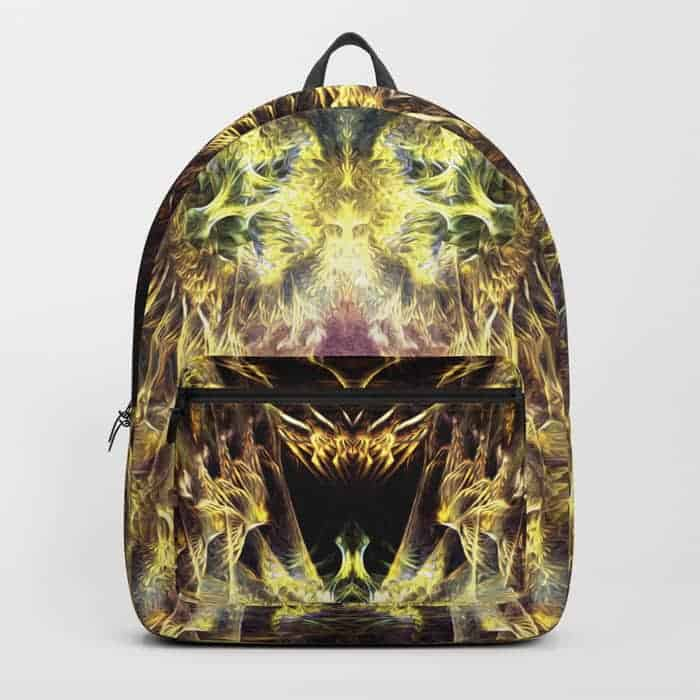DMT Shaman Visions | Unique Backpack designs by Webgrrl