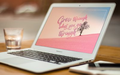 Grow Through Motivational Wallpaper
