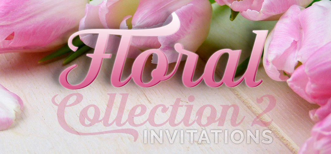Floral Invitation Card Designs Collection – Pt2