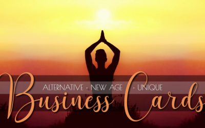 New Age Business Card Collection