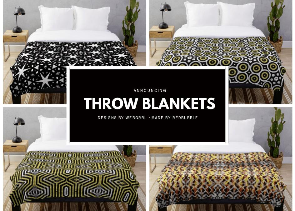 Alternative Style Home Decor Throw Blankets
