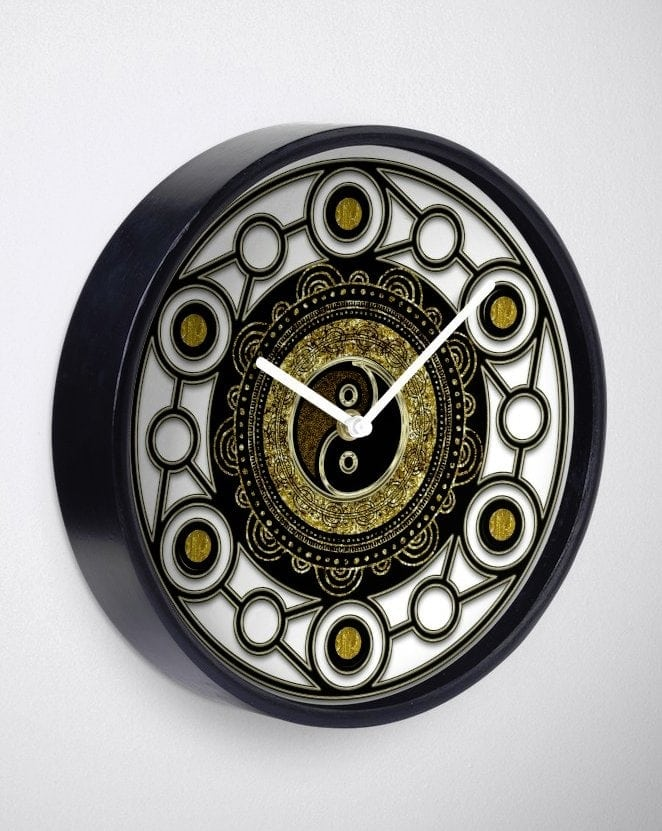 rb-gold-black-geometry-yin-yang-mandala-blk-wallclock