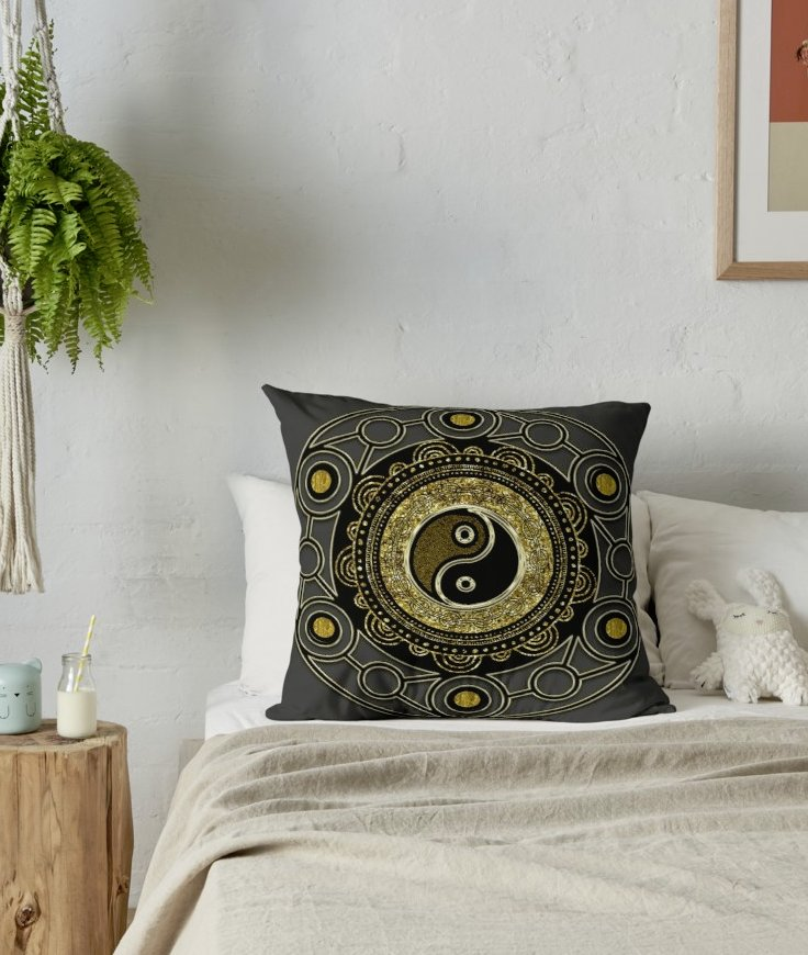 rb-gold-black-geometry-yin-yang-mandala-cushion