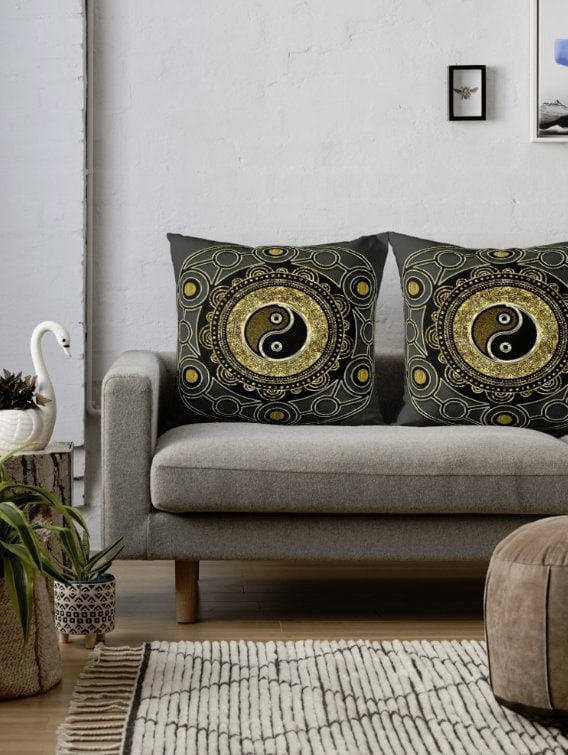 rb-gold-black-geometry-yin-yang-mandala-throw-pillows
