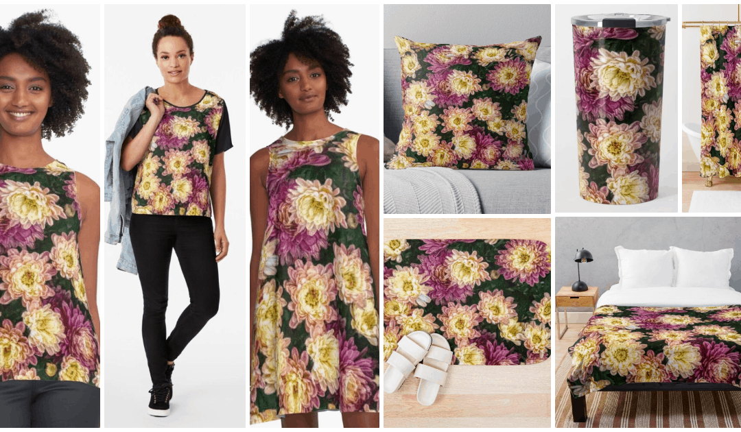 Pink Chrysanthemums Collection