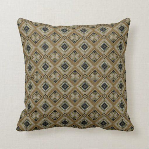 Black Gold Retro Art Deco Glam Cushion S2 by webgrrl